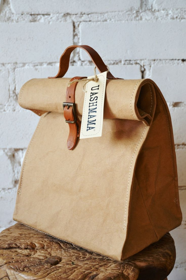 Uashmama Lunch Bag via Bers� Butik . Click on the image to see more!