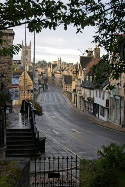 Stamford in Lincolnshire England
