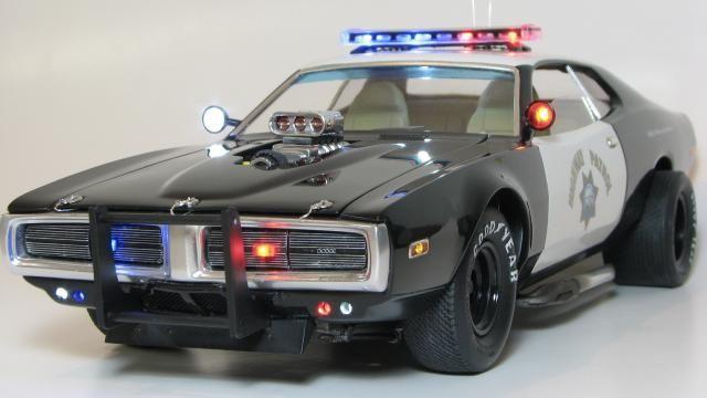 Dodge Charger Model Car | Dodge Charger ( Interceptor), MPC 1/16