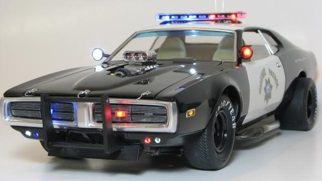 Dodge Charger Model Car Dodge Charger Interceptor