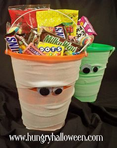 trick or treat buckets home made