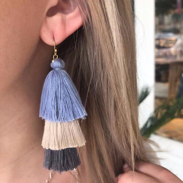 Lolita Fringe Tassel Drop Boho Earrings