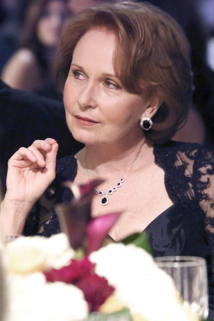 Many know Kate Burton as an actress, most recently portraying the right-wing Vice President Sally Langston in the hit TV show Scandal, and in Grey's Anatomy as Dr. Ellis Grey, the former surgeon and mother of lead character Dr. Meredith Grey, who dies of Alzheimer's.  / But what some people may not realize...