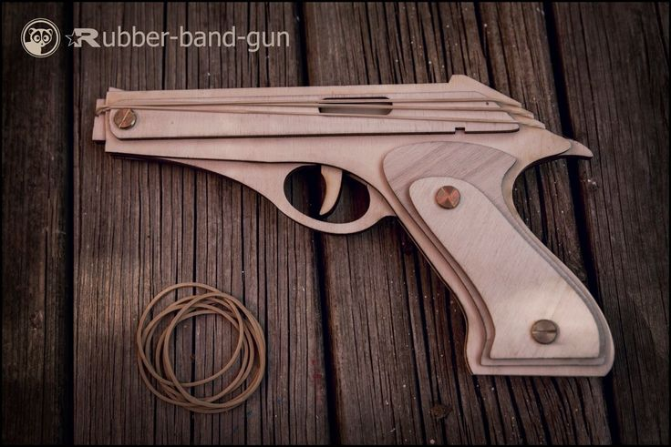 Gift For Him, Set Of 2 Rubber band Guns, Shoots 3 Rubber Bands ! Boyfriend Christmas Gift, Husband Gift, Great Shooting Gift For Men, Men's