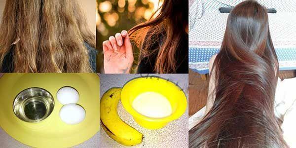 علاج الشعر التالف بالبروتين الطبيعي في البيت Silky Shiny Hair Silky Hair Silky Hair Naturally