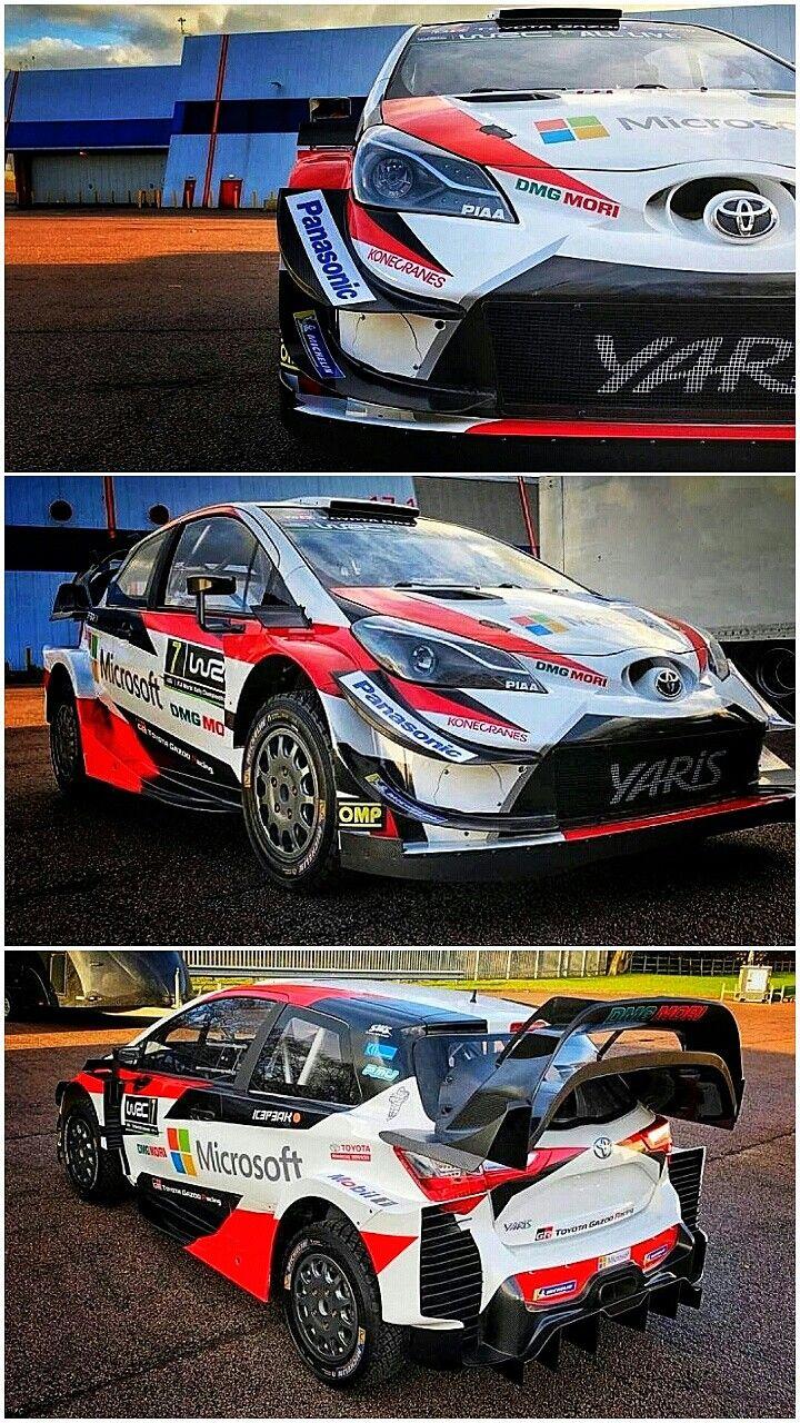 First Look 2018 Toyota Yaris Wrc Toyota Returned To Wrc Last Year