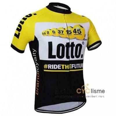 maillot cyclisme a pas cher.: maillot Cyclisme Lotto Jumbo