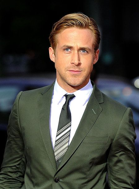 Ryan Gosling Suited up.