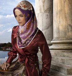beautiful turkish Hijab