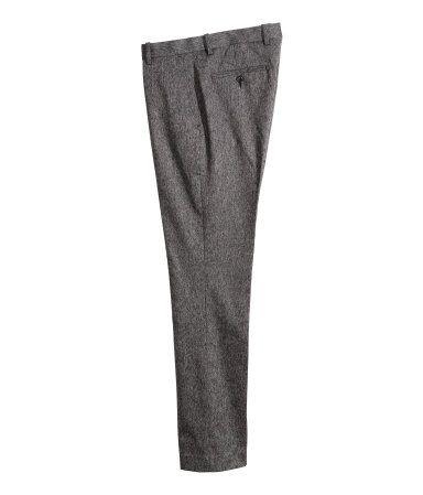 Product Detail: Melange Suit Pants   H&M US