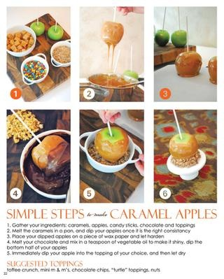 Caramel Apples  |  The Party Dress Magazine - Issue 3