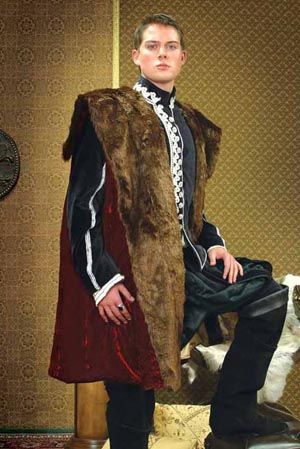 Red Royal Cape: Renaissance Costumes, Medieval Clothing, Madrigal Costume: The Tudor Shoppe