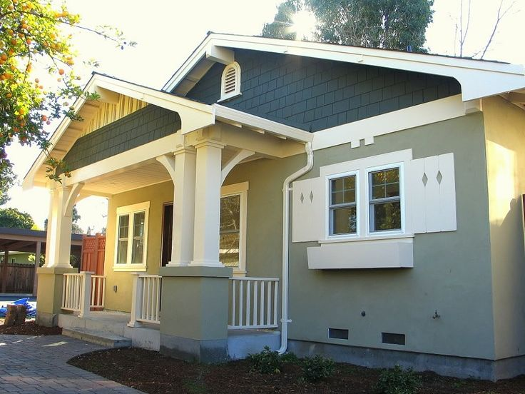 88 best images about for the home on pinterest stucco for Small bungalow elevation