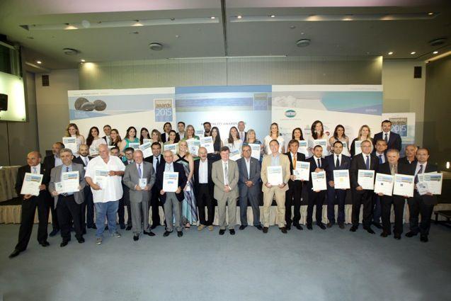 Oi nikites ksenodoxoi twn vraveiwn Greek Hospitality Awards 2015