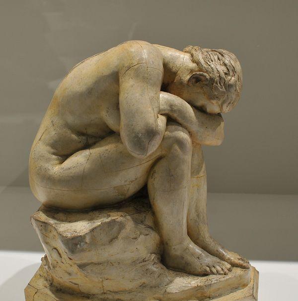 Jules Dalou (1838-1902) - Miroir brisé