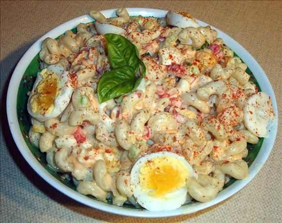 Amish Macaroni Salad~  I really love Amish Macaroni Salad, and this is my favorite recipe for it. Amish Macaroni Salad is somewhat on the sweet side, so if you don't mind your salads sweet, I think you'll like it too. It's even better the next day, so if you can, let it sit overnight.