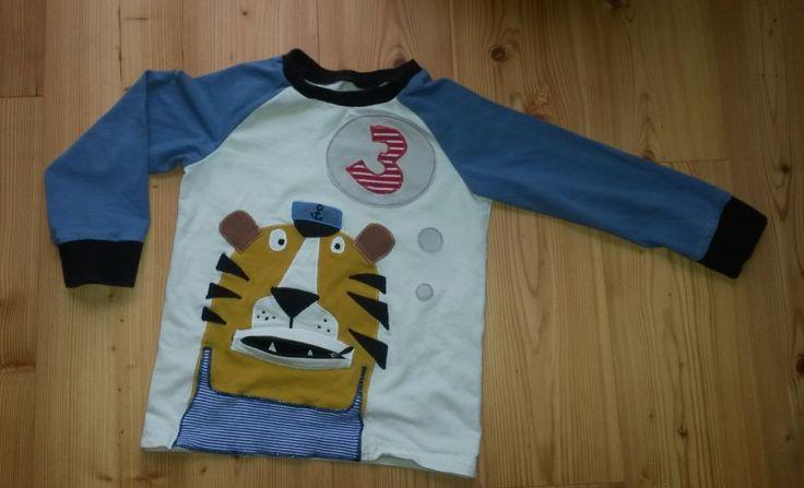 "Geburtstagsshirt ""Matrosen-Tiger"""