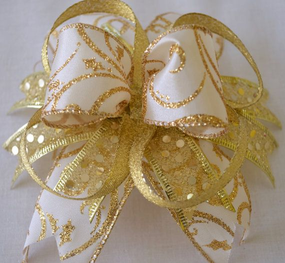 Angelic Hair Bow by Oh Sew Personal. On Sale: http://www.etsy.com/shop/OhSewPersonalShop