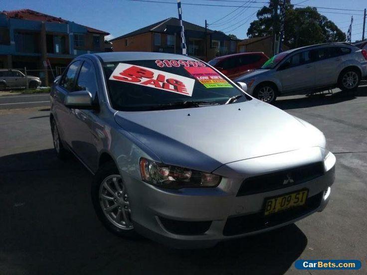 2010 Mitsubishi Lancer CJ MY11 SX Silver Automatic 6sp A Sedan #mitsubishi #lancer #forsale #australia