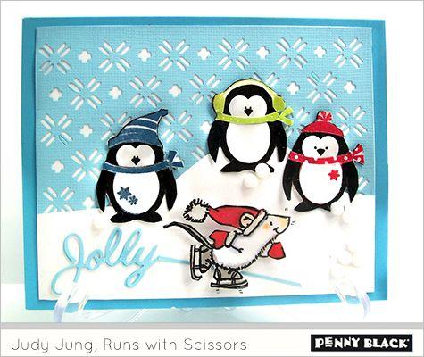 221 best Penguin Cards images on Pinterest | Holiday cards, Winter ...