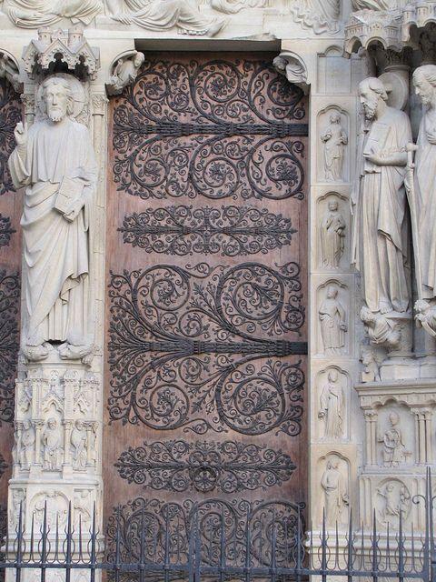 amazing door...Notre Dame, Paris