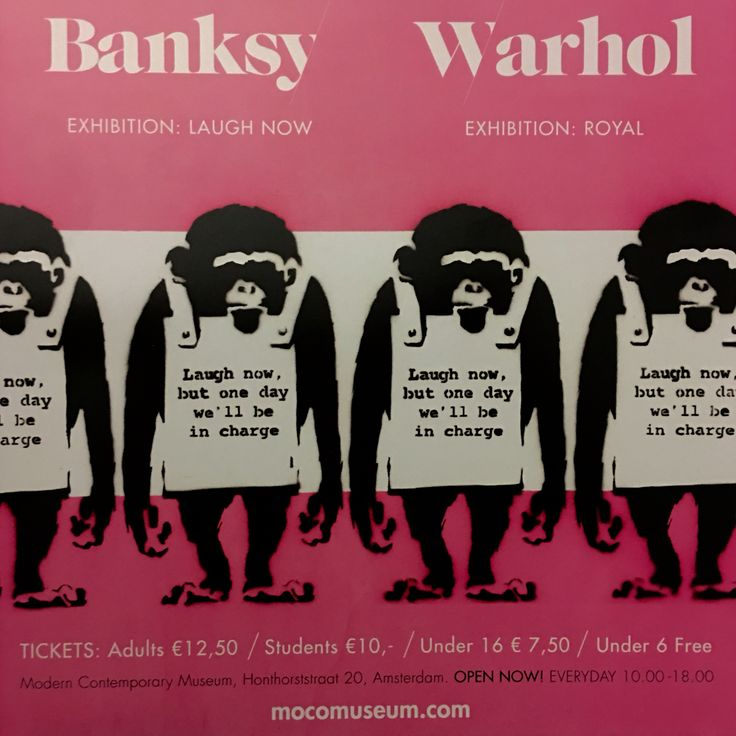 Bansky y Warhol juntos en Ámsterdam!! Fantástica exposición 😀  #Ámsterdam  #travel #vacaciones #holidays #Bansky #Warhol #arte #streetart