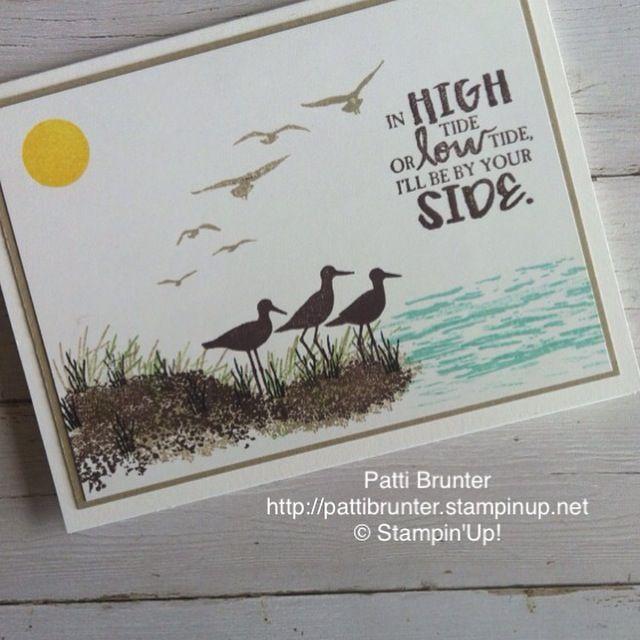 Stampin' Up! High tide stamp set,