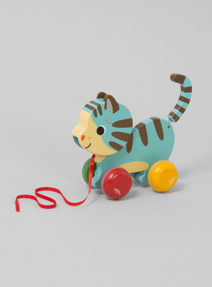 Couverture and The Garbstore - Childrens - Vilac - Marcel Cat Pull Toy