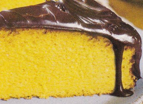 Receita de Bolo de Cenoura com cobertura de Chocolate - Receitas Já, rapidas, faceis e simples Culinária para todos!!!