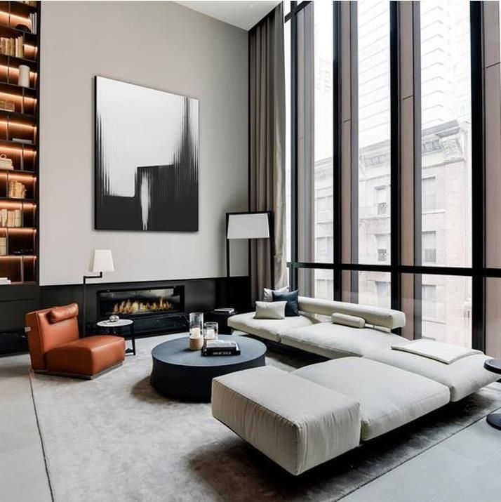 The Retro Stylish Renovation Of Rca Studio By Anderson Design Studio In 2020 Interior Design Living Room Living Design Luxury Interior Design