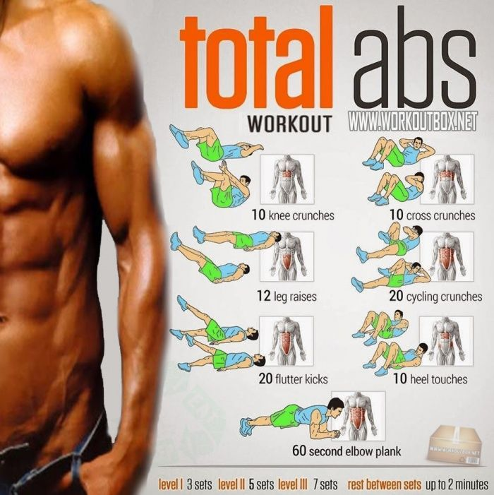 Gym & Exercises Body: total-abs-workout-sixpack-workout