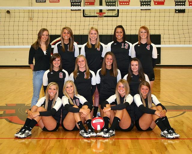 JRHS Varsity Volleyball Team