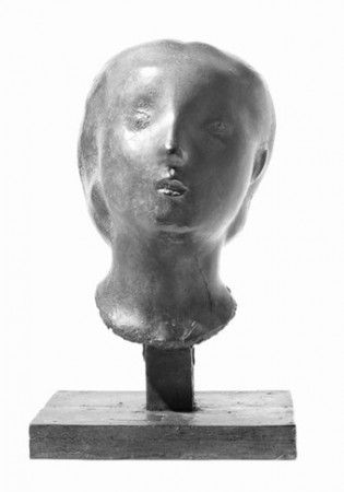 "Peter Agostini. Marina Head, 1945, bronze, 15"" h."