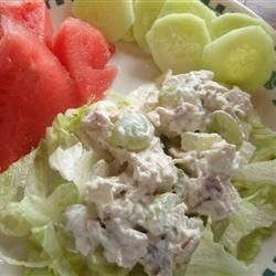 Chicken Salad With Apples Grapes And Walnuts Allrecipes Com Subsuted Gala Apple For