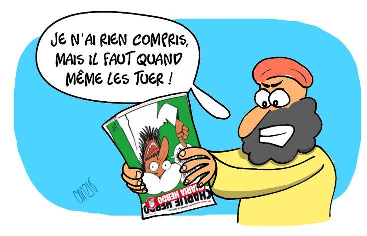 Caricaturiste et dessinateur de presse marocain, Curzio collabore avec le journal hebdomadaire marocain Telquel et des sites d'information francophones au Maroc. Dessinons ! | Mediapart