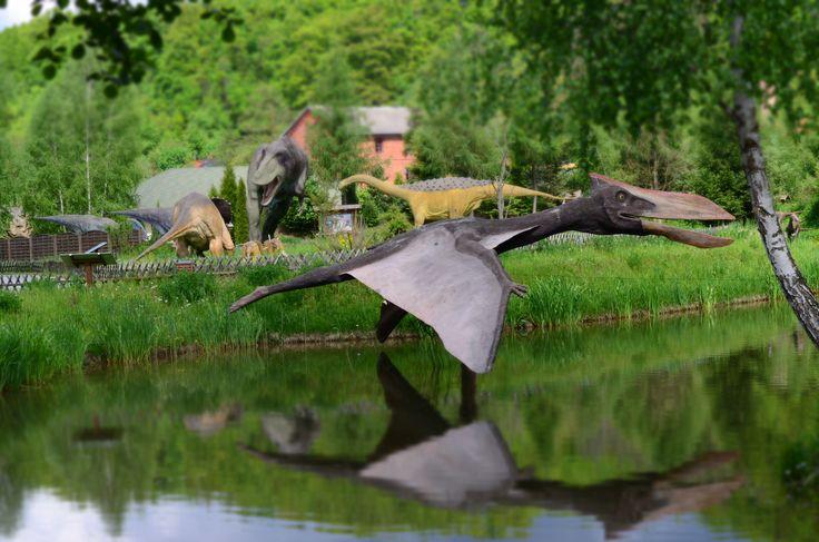 Jurapark Bałtów - miniatury - pterodaktyl