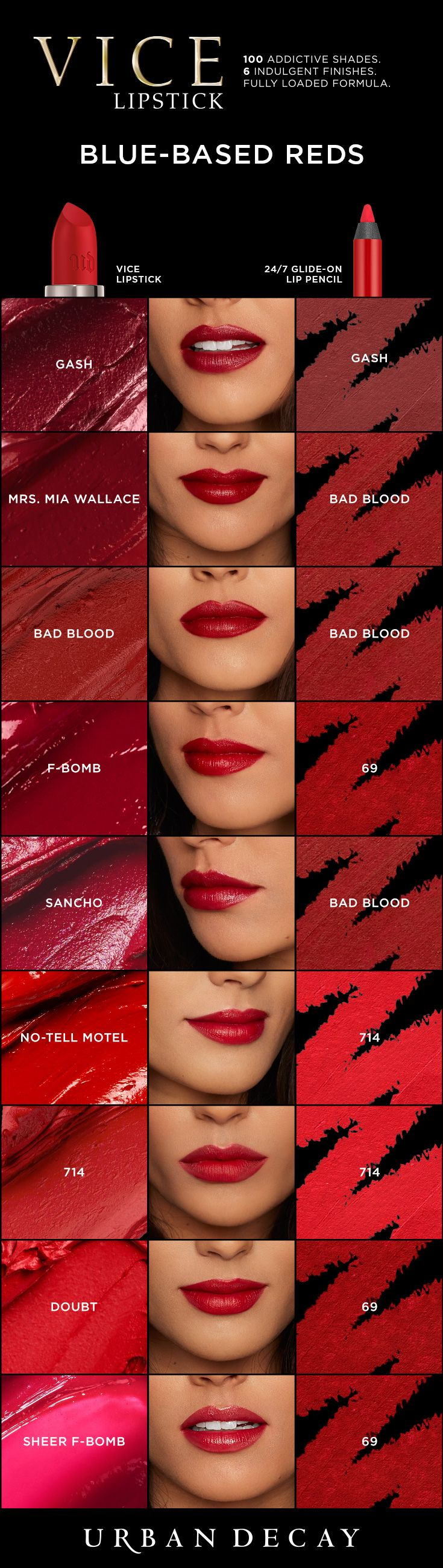 Looking for a bold red lip? Find your perfect shade of lipstick just in time for the holidays!
