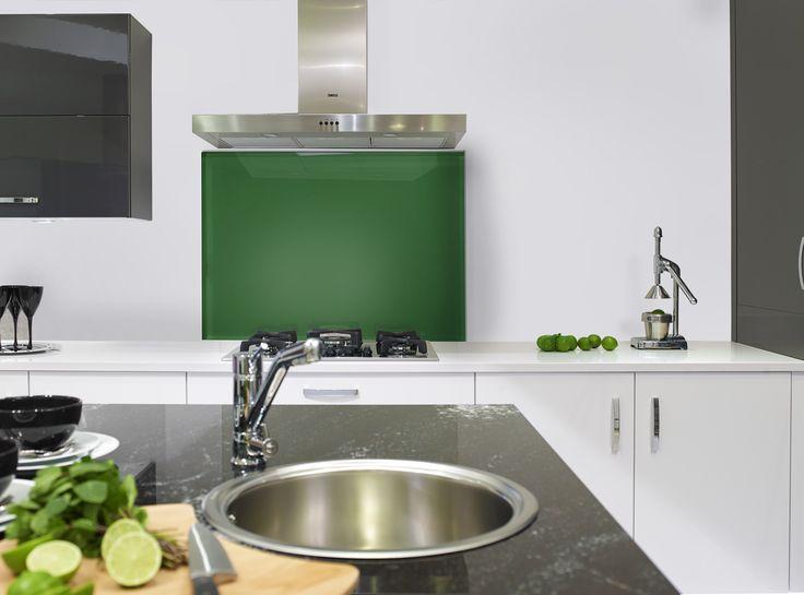 Kitchens Kitchenaccessories Kitchendesign Splashback Green