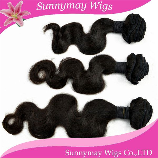 Natural Hair Products 2014 new style  Hot Selling Wholesale 100% Unprocessed 5A  brazilian body  Wave Human Hair Extensions