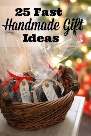 25 Fast last-minute Handmade Gift Ideas