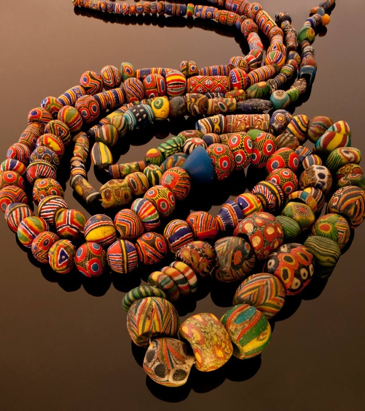 Bead Glass African Beads: 641 Best Antique & Ancient Beads Images On Pinterest