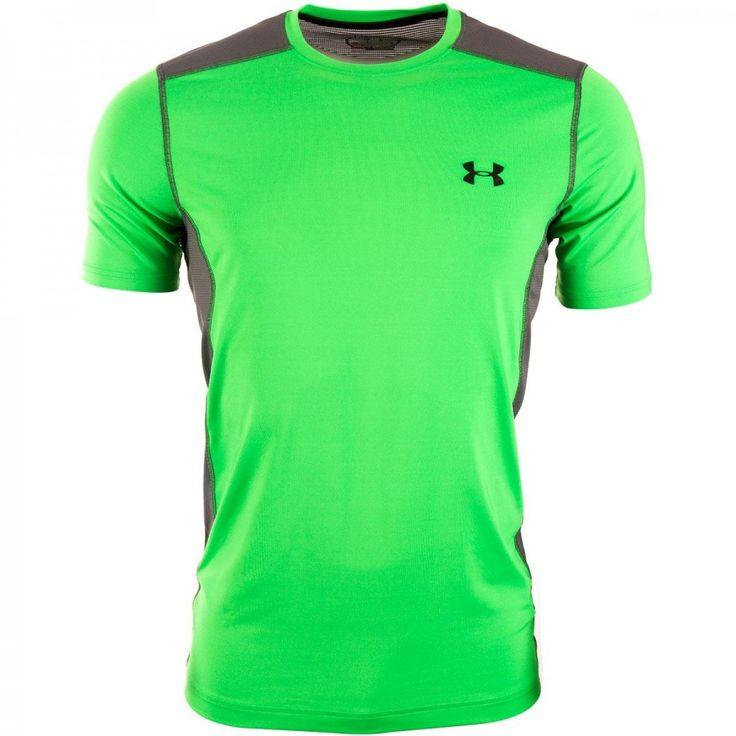 Pánské zelené běžecké Triko Under Armour