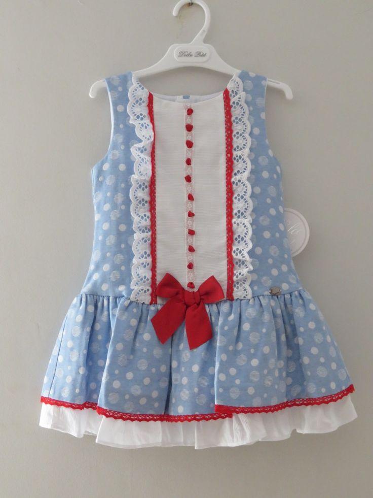 Vestido Dolce Petit disponible en tallas 6/8/10 años por 37,95€ – Prebebes