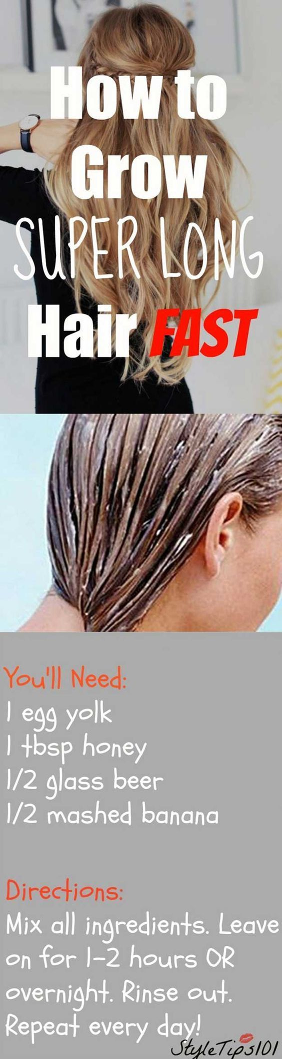Tips and Tricks For Long, Healthy Hair - How to Grow Super Long Hair - Healthy Hair Growth Tips and Styling Tricks - Home Remedies and Curling Techniques for How To Grow the Best Hairdos - Simple Pony Tails, Bun Tutorials - Tips for Colour, Bangs and Gorgeous Locks - thegoddess.com/tips-and-tricks-for-long-hair