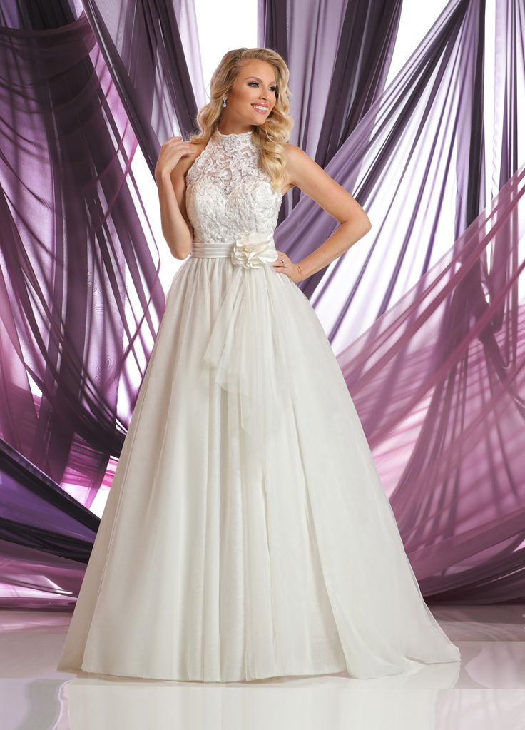 DaVinci Wedding Gowns Style #50399    I like the top