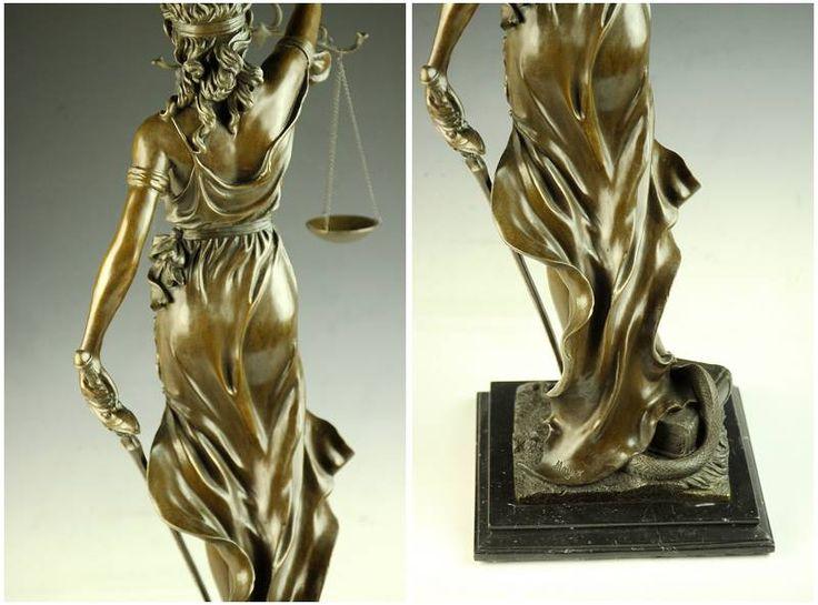 【永楽】超大型ブロンズ像◇正義の女神Houdon◇76cm◇17.1キロ - ヤフオク!