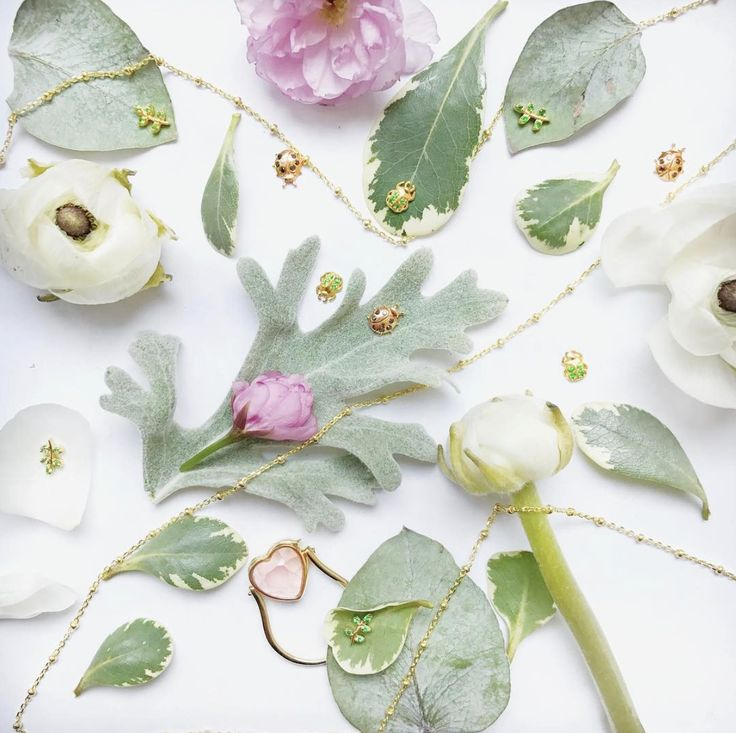 Faceted Loquet Ring & some spring charms