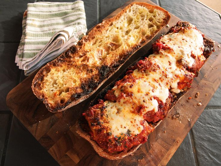 To make the best chicken Parm sandwich, just start with the best chicken Parmesan. Our version uses a buttermilk brine for extra juiciness and flavor. We take the leftovers and pack them into a full-sized loaf of toasted ciabatta, adding some extra sauce and cheese to keep the bread moist before cutting it up into single serving slices. This is a chicken Parm sandwich so good it's almost worth making the chicken Parm fresh just for the sandwich.