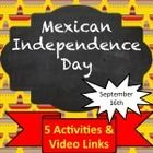 These activities will allow students to learn about the history and celebration on Mexican Independence Day while acquiring new vocabulary in the t...