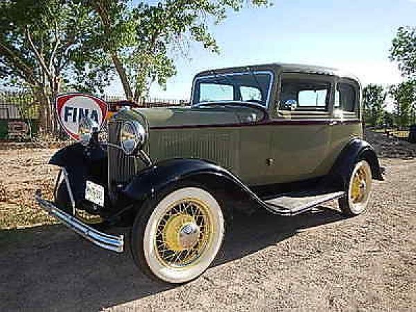 1932 Ford Deluxe Victoria Deluxe 1932 FORD VICTORIA ORIGINAL HENRY STEEL LOTS OF ORIGINAL OPTIONS